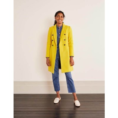 Burnet Coat Yellow Women Boden, yellow