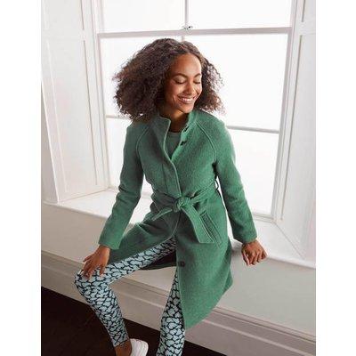 Cartwright Coat Green Christmas Boden, Green