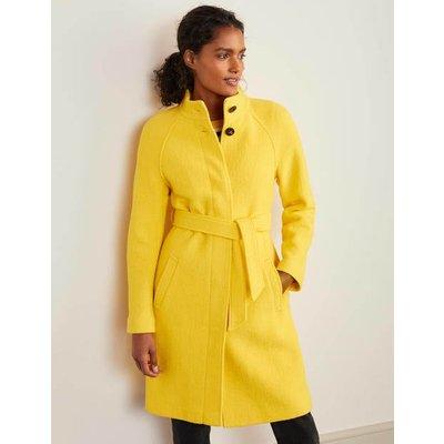 Cartwright Coat Yellow Christmas Boden, Yellow