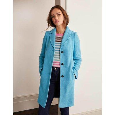 Knight Coat Blue Women Boden, Blue
