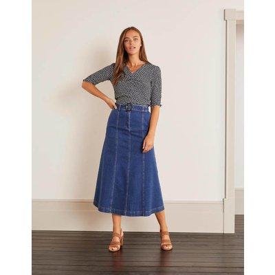 Everdene Midi Skirt Mid Vintage Women Boden, Mid Vintage