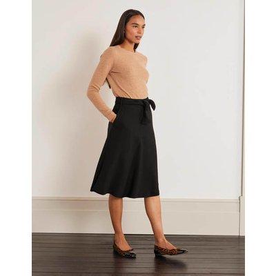 Morland Belted Skirt Black Women Boden, Black