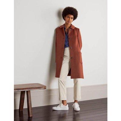 Clifford Coat Red Oak Women Boden, Red Oak