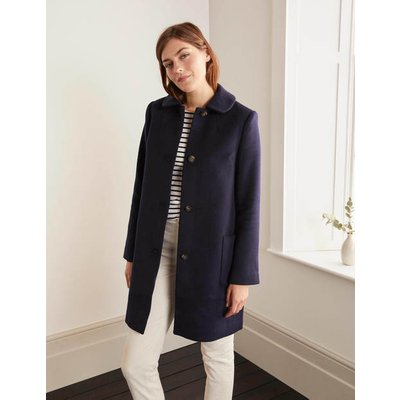 Clifford Coat Navy Christmas Boden, Navy