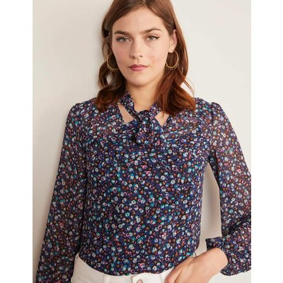 Imogen Blouse Black Women Boden, Black