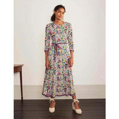 Adora Midi Dress Ivory Women Boden, Ivory
