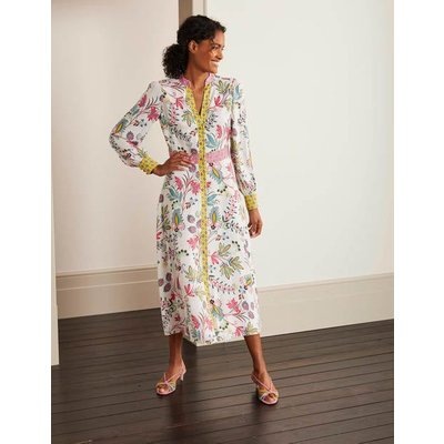 Mollie Shirt Dress Ivory Women Boden, Ivory