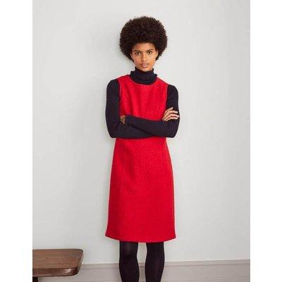 Sophia Wool Shift Dress Red Women Boden, Red