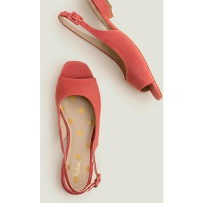 Ivy Low Heel Slingbacks Red Women Boden, Red