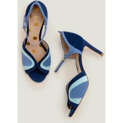 Eugenie Heels Blue Decadence Multi Women Boden, Blue Decadence Multi