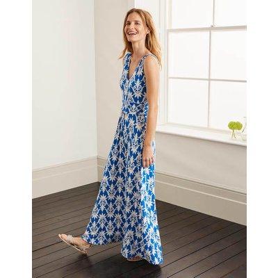Sienna Jersey Maxi Dress Blue Women Boden, Blue