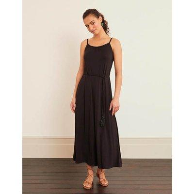 Louisa Jersey Maxi Dress Black Women Boden, Black