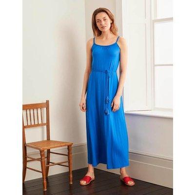 Louisa Jersey Maxi Dress Blue Women Boden, Blue