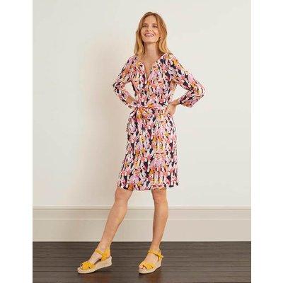 Kelsey Linen Tunic Pink Women Boden, Camel