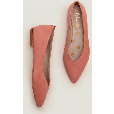 Julia Pointed Flats Pink Women Boden, Pink