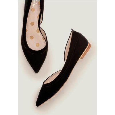 Sophia Pointed Flats Black Women Boden, Black