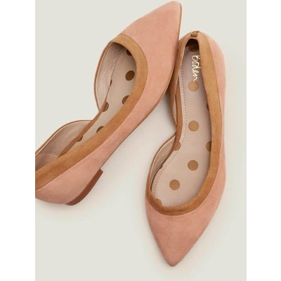Sophia Pointed Flats Natural Women Boden, Camel