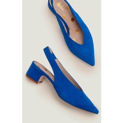 Lena Slingback Heels Blue Women Boden, Blue