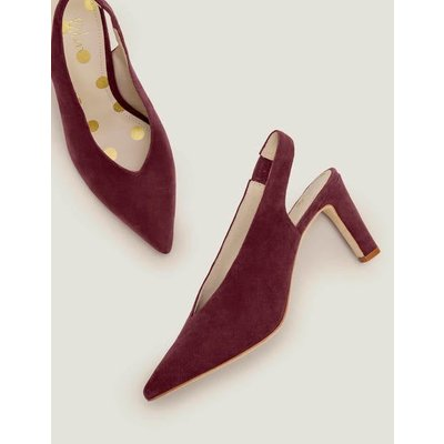 Lydia Slingback Heels Brown Women Boden, Brown