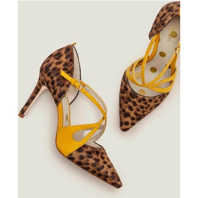 Rosemary Heels Brown Women Boden, Leopard