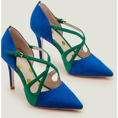 Rosemary Heels Blue Women Boden, Blue