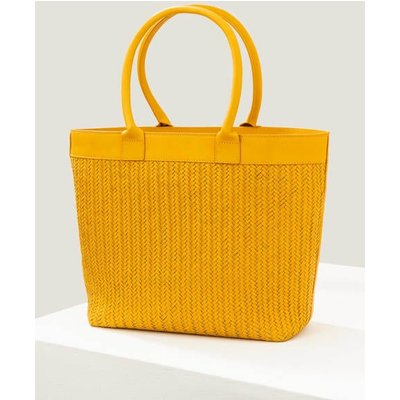 Titania Woven Tote Bag Yellow Women Boden, Yellow