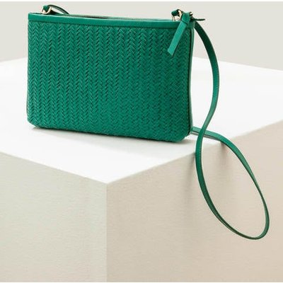 Titania Woven Clutch Green Women Boden, Green