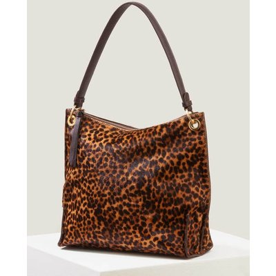 Portia Shoulder Bag Brown Women Boden, Leopard