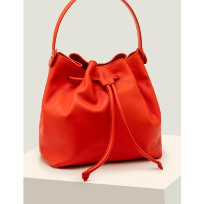 Octavia Drawstring Bag Orange Women Boden, Orange