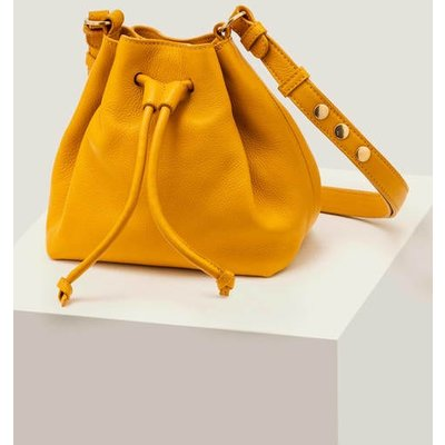 Mini Octavia Drawstring Bag Yellow Women Boden, Yellow