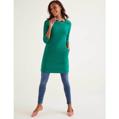 Isabel Ottoman Tunic Green Women Boden, Green