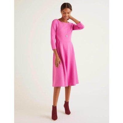 Maisy Ottoman Dress Pink Women Boden, Multicouloured