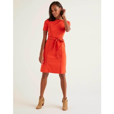 Rebecca Ponte Shift Dress Orange Women Boden, Orange
