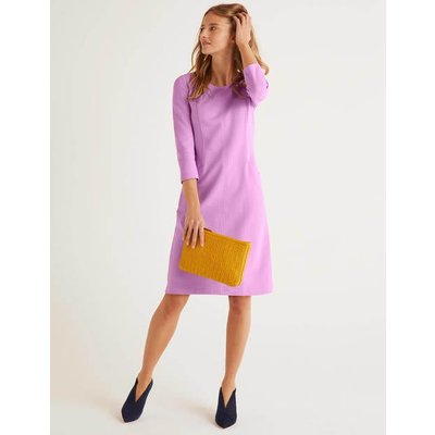 Ellen Ottoman Dress Purple Women Boden, Purple