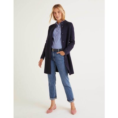 Claudia Coatigan Navy Women Boden, Navy