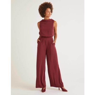 Clarissa Jumpsuit Brown Women Boden, Brown