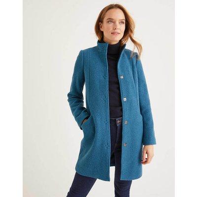 Hengrave Coat Blue Women Boden, Blue