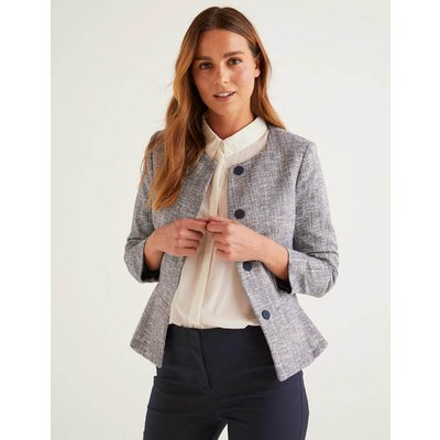 Polperro Jacket Navy Women Boden, Blue