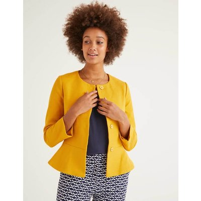Polperro Jacket Yellow Women Boden, Yellow