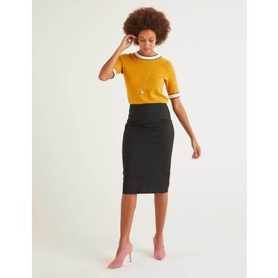 Kensington Pencil Skirt Black Christmas Boden, Black