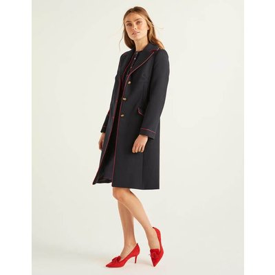 Dove Coat Navy Women Boden, Navy