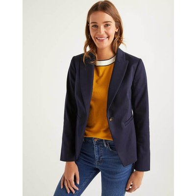 Brotherton Jacket Navy Women Boden, Navy