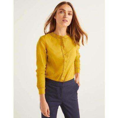 Mirabelle Blouse Yellow Women Boden, Yellow