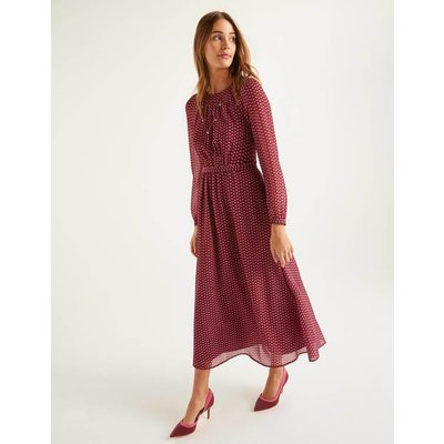 Erica Dress Brown Women Boden, Brown
