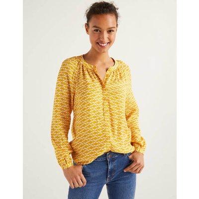 Naomi Blouse Yellow Women Boden, Yellow