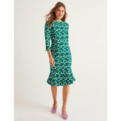 Violette Dress Green Women Boden, Green