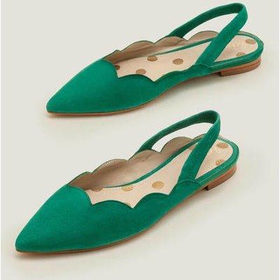 Lilian Slingbacks Green Women Boden, Green