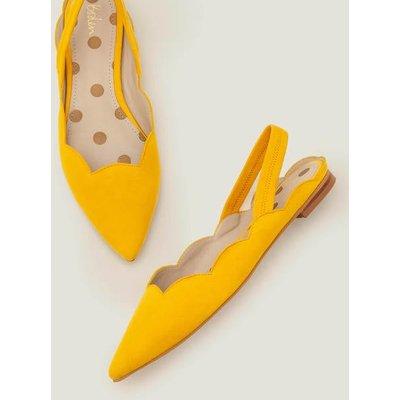 Lilian Slingbacks Yellow Women Boden, Yellow