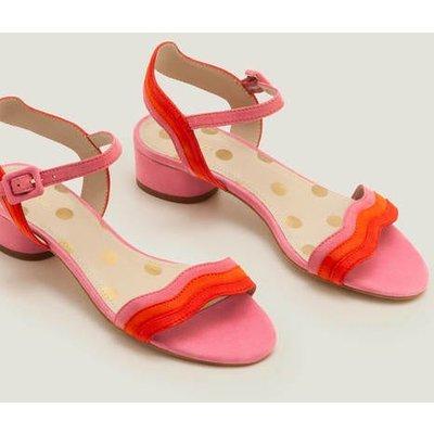 Kitty Heeled Sandals Pink Women Boden, Camel