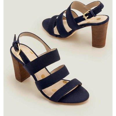 Samantha Heeled Sandals Navy Women Boden, Navy
